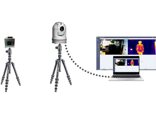 SV-T10-G Spherical Temperature Measurement Thermal Imaging System